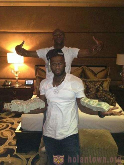 50 Cent declared itself bankrupt, and said that all his wealth is an illusion