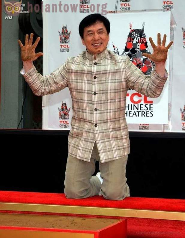 Nose, hands and feet of Jackie Chan will remain in Hollywood