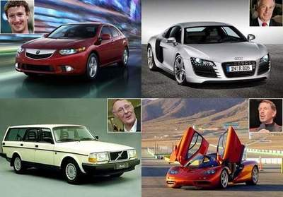 Cars that drive billionaires