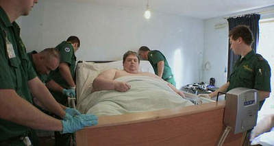 A resident of the UK is recognized as the fattest man in the world
