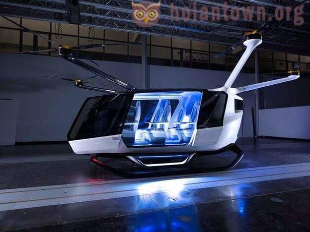 Alaka'i build flying cars on hydrogen, because they do not believe in batteries