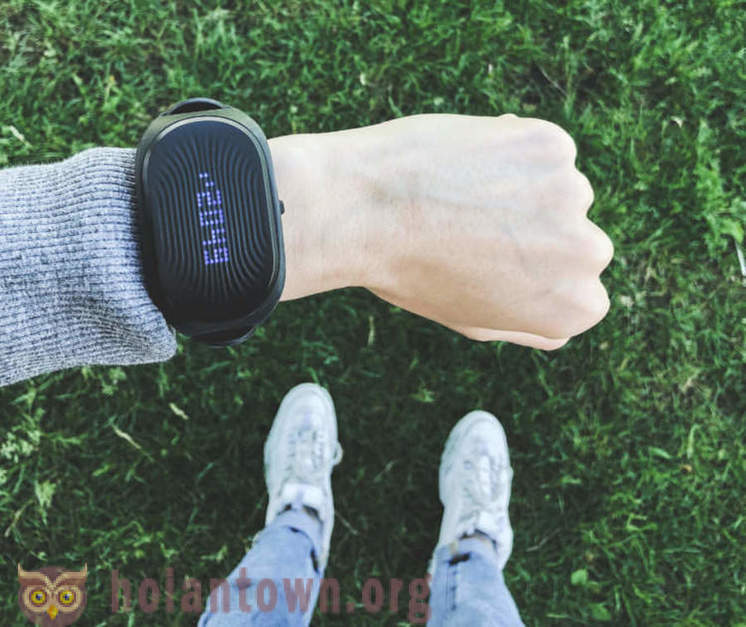 Healbe GoBe2: Russian smart bracelet, which he considers calories