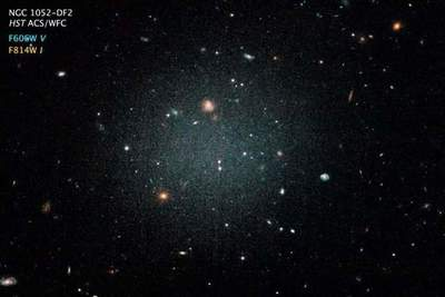 Astronomers have discovered a galaxy in which there are almost no dark matter