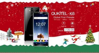 OUKITEL K6 went on sale at a special price