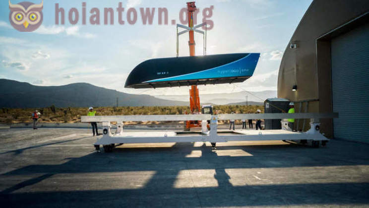 Hyperloop One held a high-speed testing of the transport system of the future