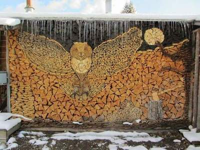 19 creative ideas for packing firewood