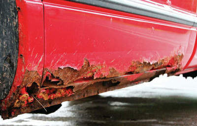 Which cars usually rust
