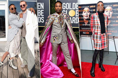 Extravagant costumes Billy Porter