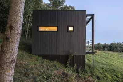 Country house 14 square meters in Lithuania