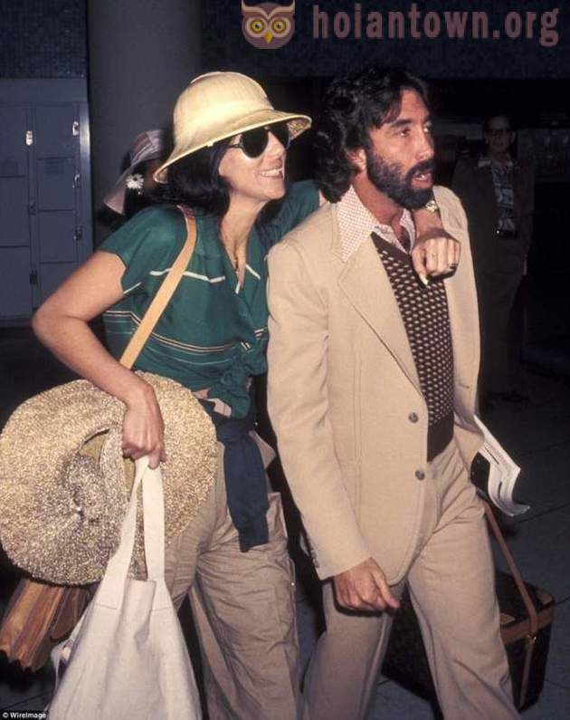 Celebrity travel: from the history of the 70's