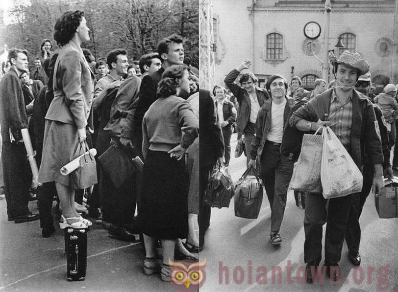 Student life in the USSR