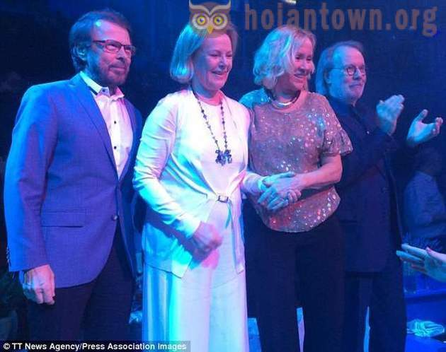 Mamma Mia: ABBA members for the first time in 30 years, reunited!
