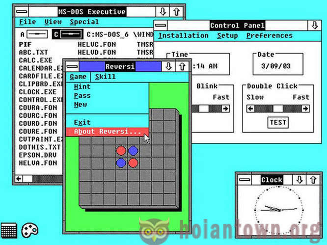 The evolution of Windows for 30 years of existence