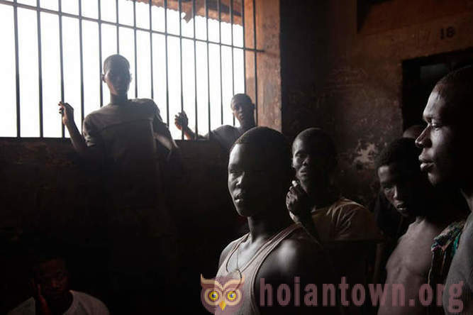 A prison for teenagers in Sierra Leone: that's where the real hell
