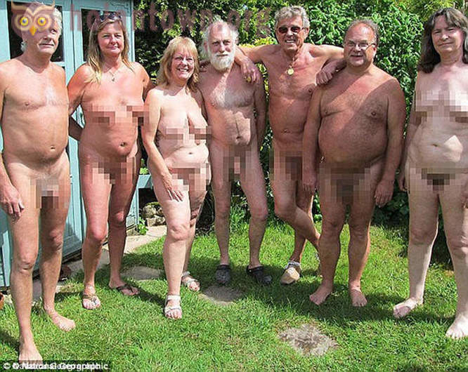 How to live the British countryside nudists