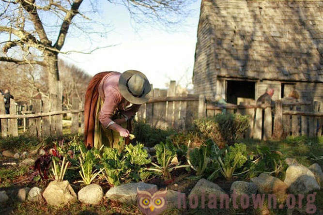 Plymouth Plantation - an open air museum of XVII century