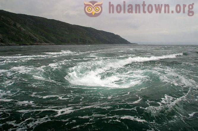 The strongest whirlpools in the world