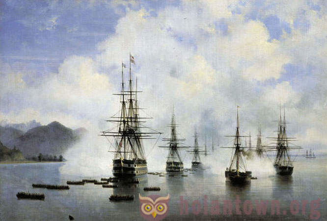 The best paintings Ivan Aivazovsky