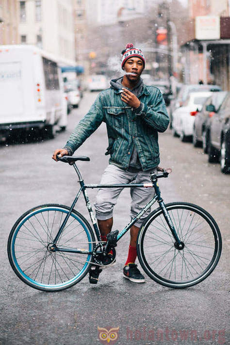 New York style bicycle