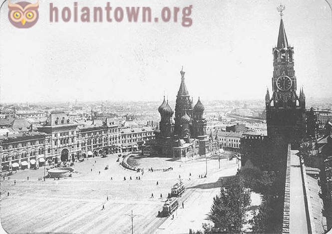 Stunning photos of Moscow early last century