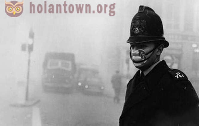 10 photos of the Great Smog in London