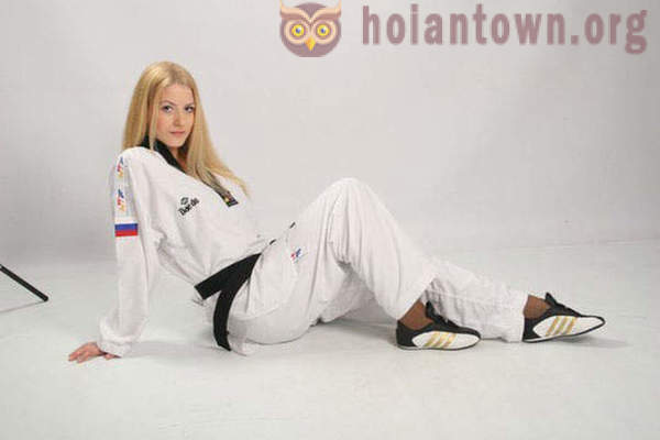 Beautiful athlete Southern Urals