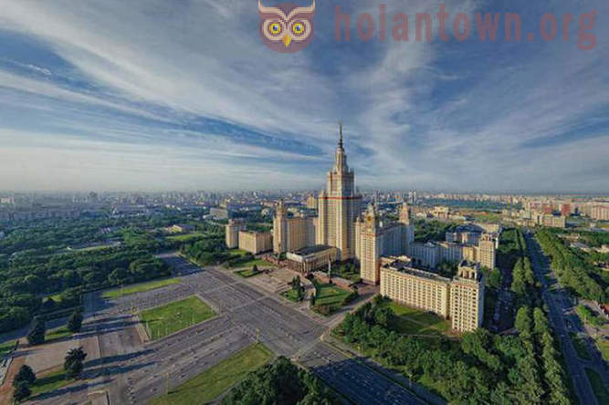 The history and myths of the construction of the Moscow State University