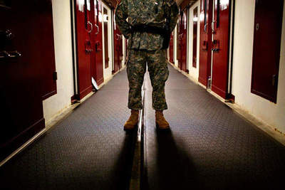What's it like - to be guards and prisoners at Guantanamo
