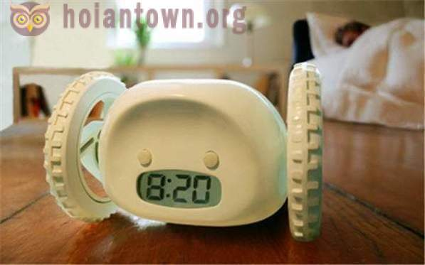 The most unusual alarm