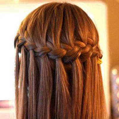 Beautiful weaving on long hair. The most beautiful hairstyles: weaving braids on long hair